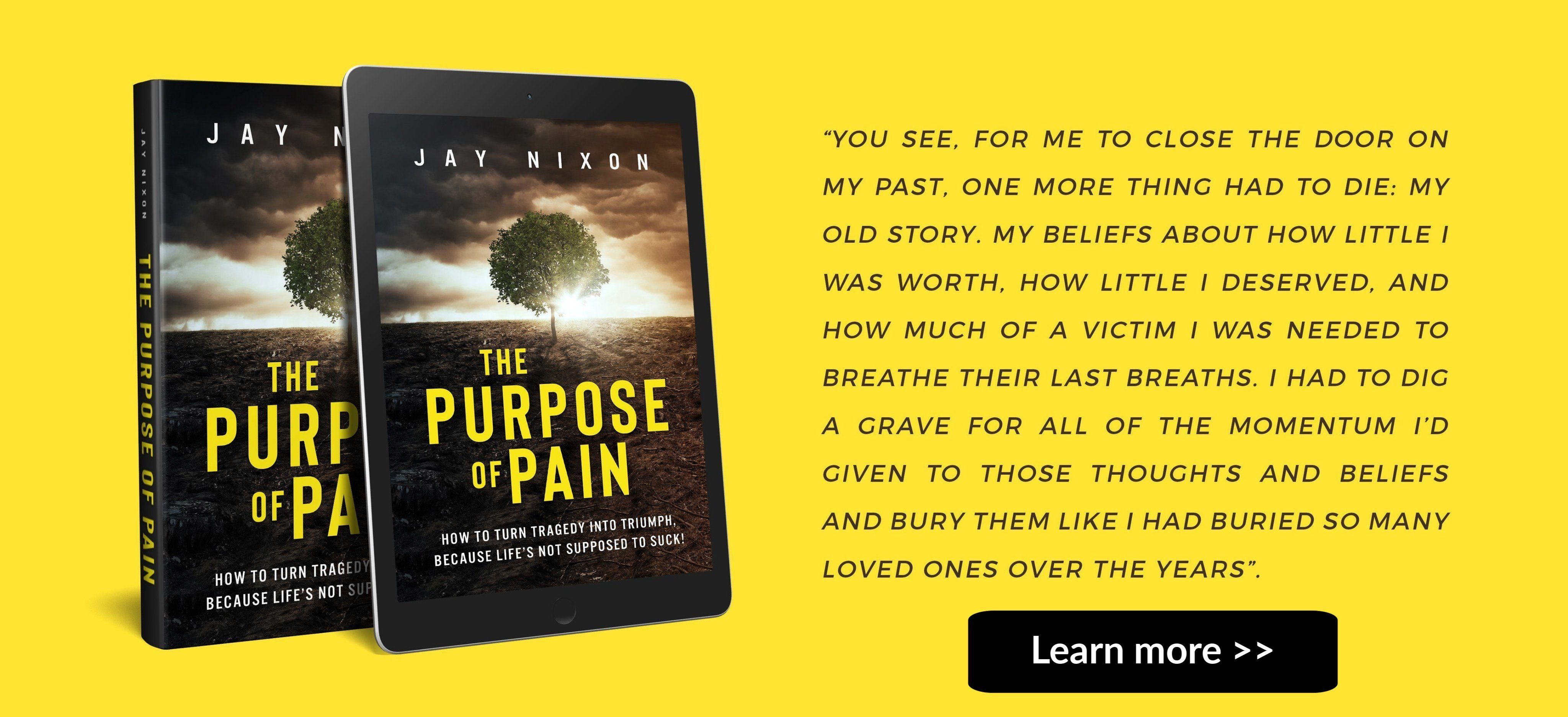 The Purpose of Pain Book