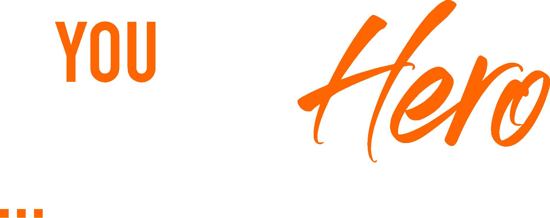 hero tagline